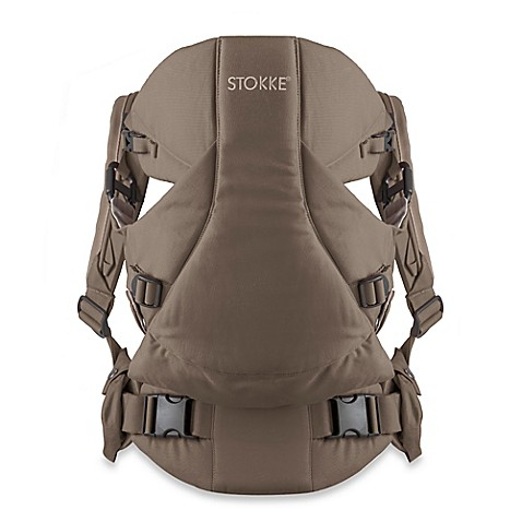 Stokke® MyCarrier: 3-in-1 Multi-Use Baby Carrier in Brown