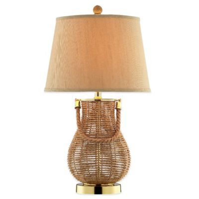 Panama Jack® Seagrass Basket Accent Table Lamp
