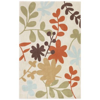Style Statements Straubing 2-Foot x 3-Foot Area Rug in Chocolate