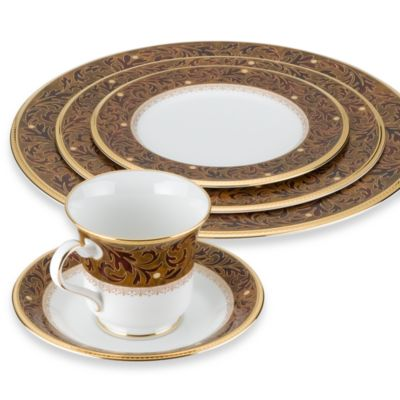 Noritake® Xavier Gold 5-Piece Place Setting
