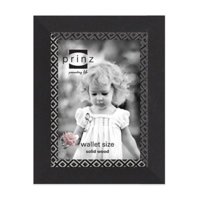 Prinz Monterey 2.5 Inch x 3.5 Inch Picture Frame in Black