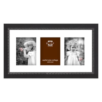 Prinz Monterey 3-Photo Collage Picture Frame in Black
