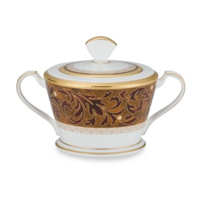 Noritake® Xavier Gold Sugar Bowl