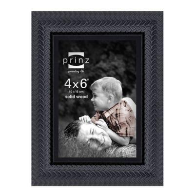 4 x 6 Prinz Black Picture Frame