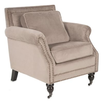 Safavieh Karsen Club Chair in Mushroom Taupe