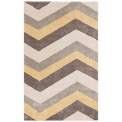Style Statements Spessart 5-Foot x 8-Foot Area Rug in Charcoal