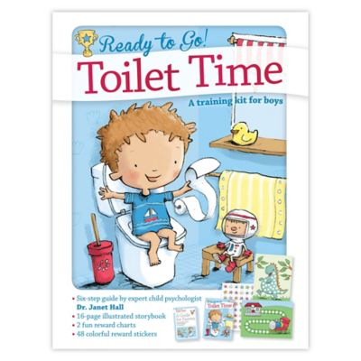 Ready to Go Toilet Time Potty: A Training Kit for Boys by Dr. Janet Hall