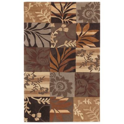 Style Statements Regensburg 3-Foot 6-Inch x 5-Foot 6-Inch Area Rug in Olive