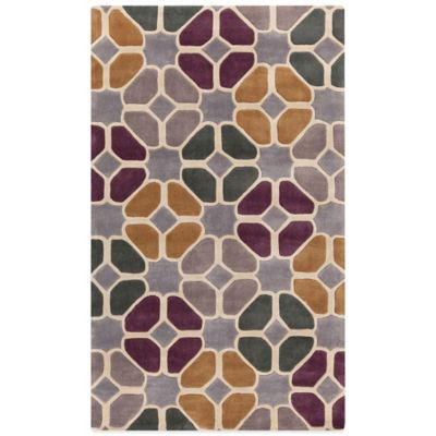 Style Statements Offen 5-Foot x 8-Foot Area Rug in Aloe