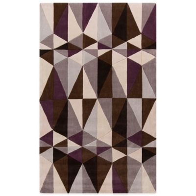 Style Statements Mannheim 3-Foot 6-Inch x 5-Foot 6-Inch Area Rug in Taupe