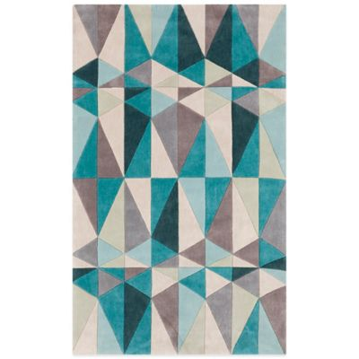 Style Statements Mannheim 5-Foot x 8-Foot Area Rug in Beige