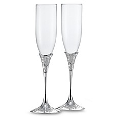 Wedding Essentials Cake Toppers Champagne Glasses