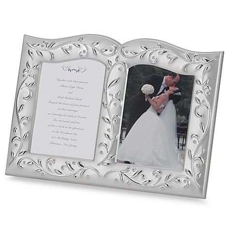 Lenox® Opal innocence™ Invitation Frame