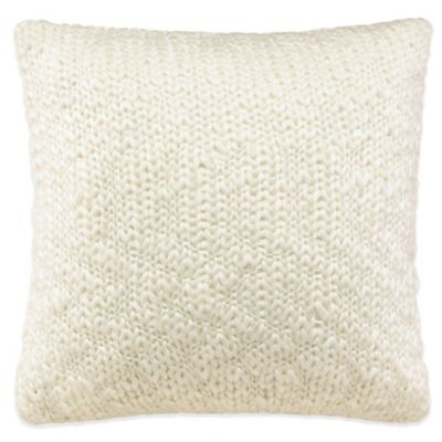 Lady Antebellum Heartland™ Belle Meade Knit Square Throw Pillow in White