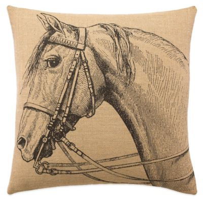 Lady Antebellum Heartland™ Delta Queen Square Throw Pillow in Brown