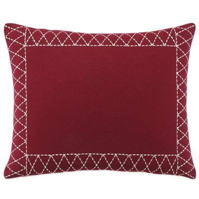 Lady Antebellum Heartland™ Smokey Mountains Oblong Throw Pillow in Red