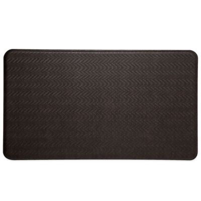 Imprint® Cobblestone 2-Foot 2-Inch x 6-Foot Anti-Fatigue Comfort Mat in Espresso
