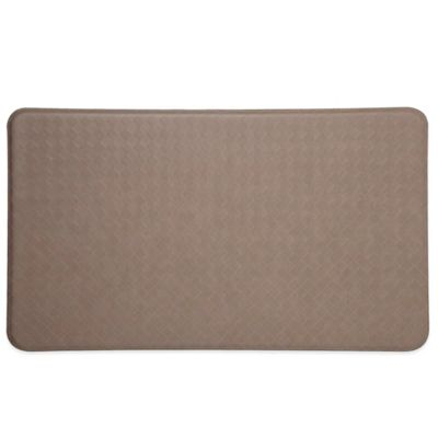 Imprint® Nantucket 26-Inch x 48-Inch Anti-Fatigue Comfort Mat in Mocha