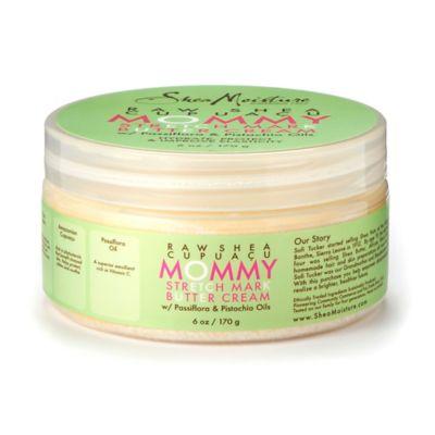 SheaMoisture Raw Shea Cupuacu 6 oz. Mommy Stretch Mark Butter Cream