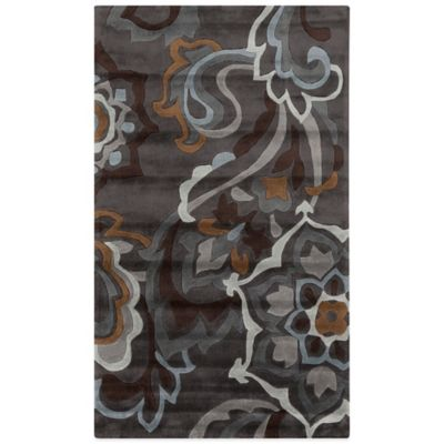Style Statements Landsberg 5-Foot x 8-Foot Area Rug in Ash