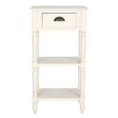 Safavieh Chucky Accent Table in White
