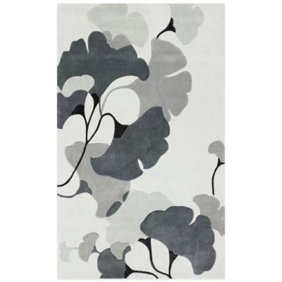 Style Statements Jenna 8-Foot x 11-Foot Area Rug in Ivory