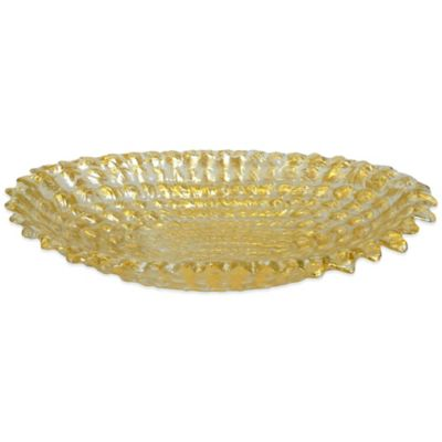 Classic Touch Trophy Small Bowl in Gold