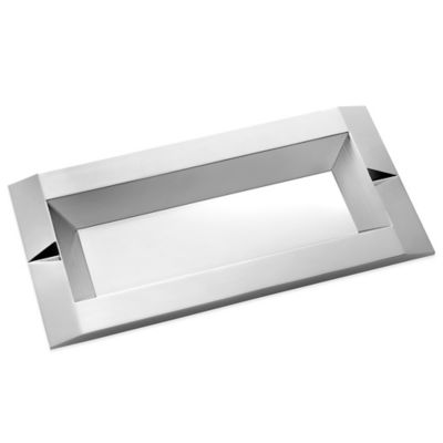 Metallic Silver Trays