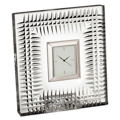 Waterford® Lismore Diamond Bedside Clock