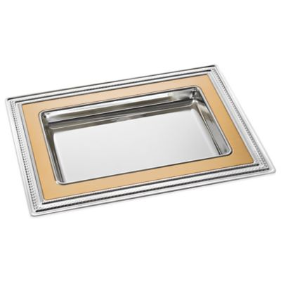 Vera Wang Wedgwood® With Love Vanity Tray in Gold