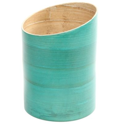 Gibson Overseas Bamboo Utensil Holder in Blue