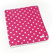 Glenna Jean Ellie & Stretch Throw in Pink/White