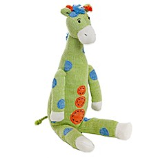 Glenna Jean Ellie & Stretch Plush Giraffe in Green