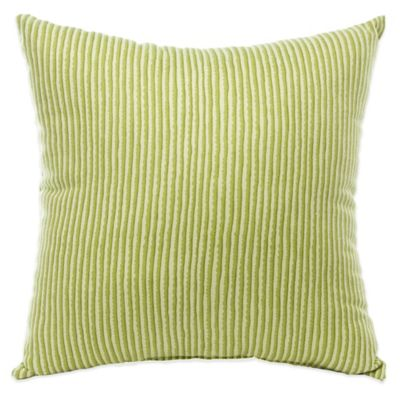 Glenna Jean Kirby Square Throw Pillow in Green