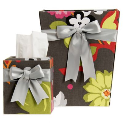Glenna Jean Kirby Tissue Cover and Wastebasket