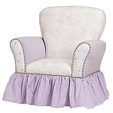 Glenna Jean Penelope Upholstered Child's Rocker