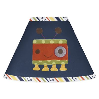 Sweet Jojo Designs Robot Lamp Shade