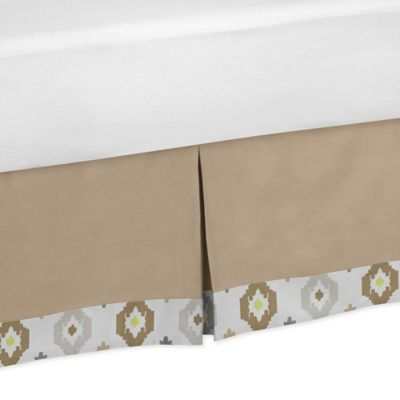 Sweet Jojo Designs Safari Outback Toddler Bed Skirt