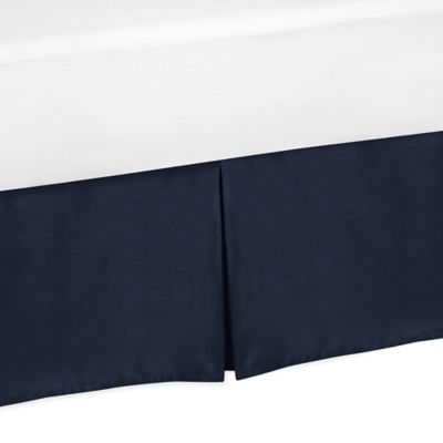 Sweet Jojo Designs Space Galaxy Toddler Bed Skirt