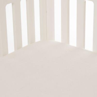 Glenna Jean Anastasia Softee Fitted Crib Sheet in Cream