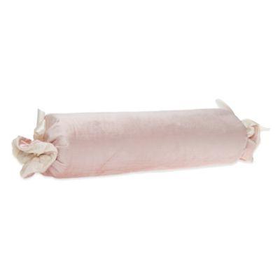 Glenna Jean Anastasia Velvet Bolster in Pink