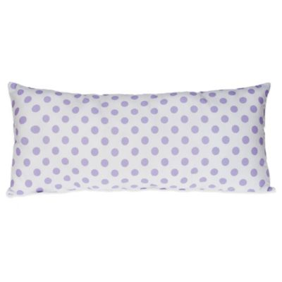 White/Purple Baby Bedding