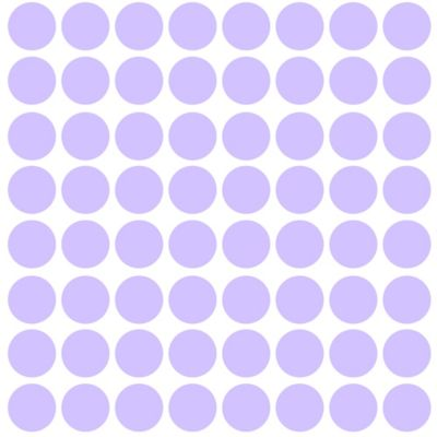Glenna Jean Fiona Dots Wall Decals in Lilac (Set of 70)