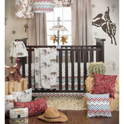 Glenna Jean Happy Trails 3-Piece Crib Bedding Set