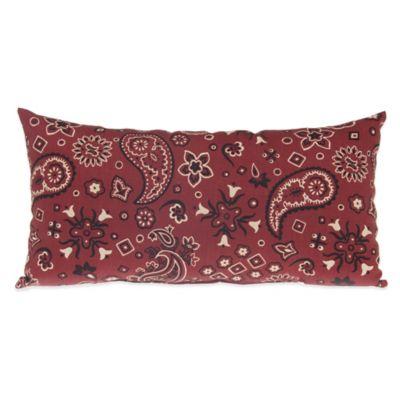 Glenna Jean Happy Trails Rectangular Bandana Throw Pillow