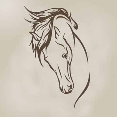 Glenna Jean Happy Trails Stallion Wall Decal