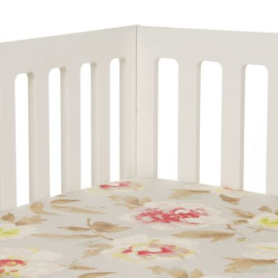 Glenna Jean Harper Floral Fitted Crib Sheet