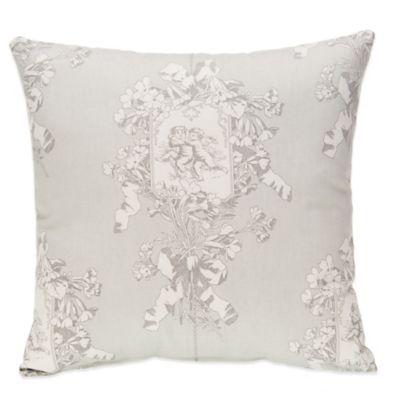 Glenna Jean Heaven Sent Cherub Print Throw Pillow