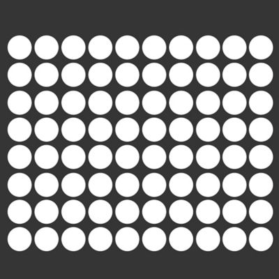 Glenna Jean Heaven Sent 70-Count Dot Wall Decals in White