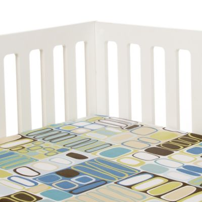 Glenna Jean Liam Elliptical Print Fitted Crib Sheet